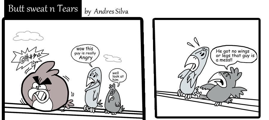 Angry comic by Makinita