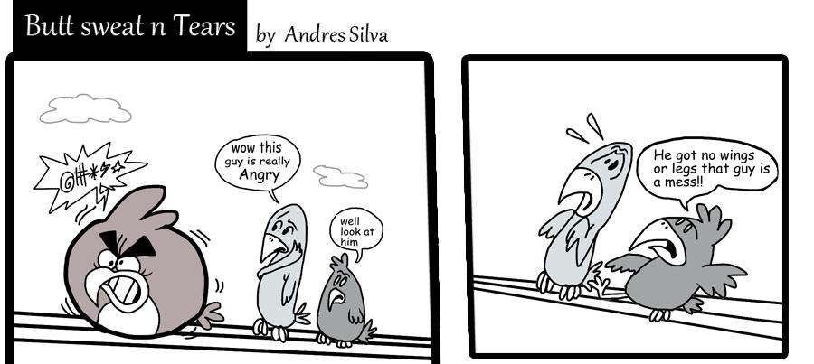 Angry comic by Makinita