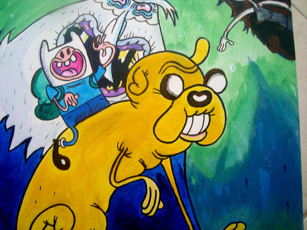 Adventure Time acryclisckssssss by Makinita
