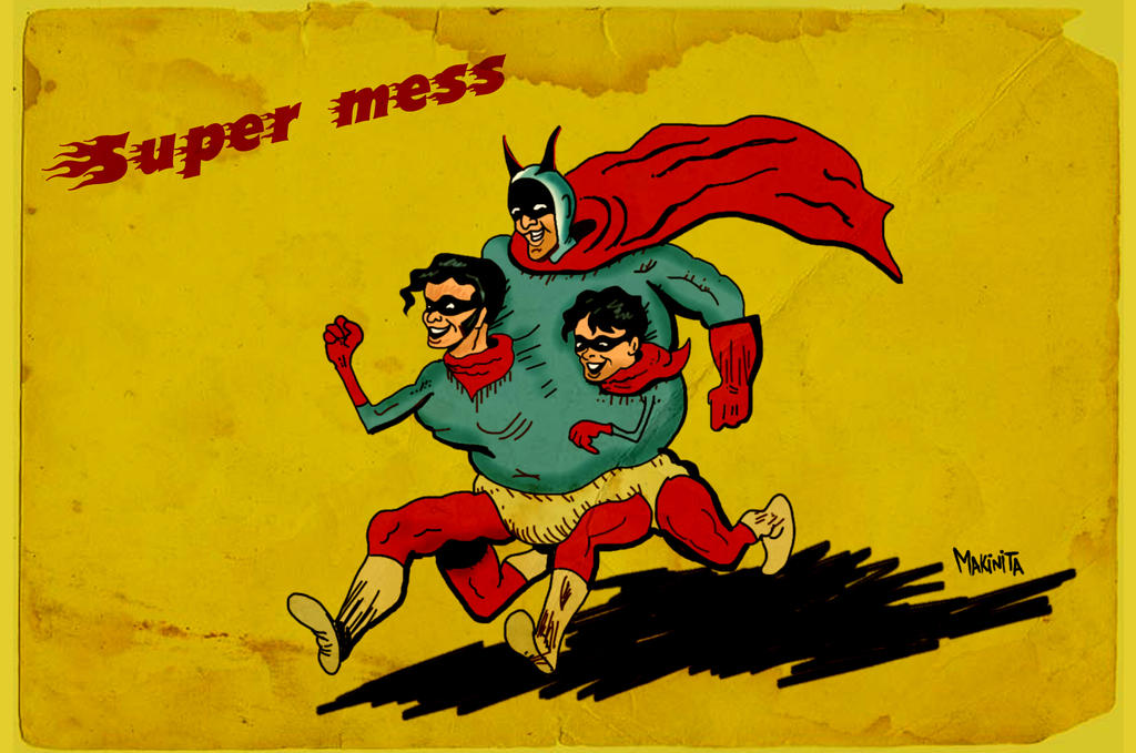 Super Mess by Makinita