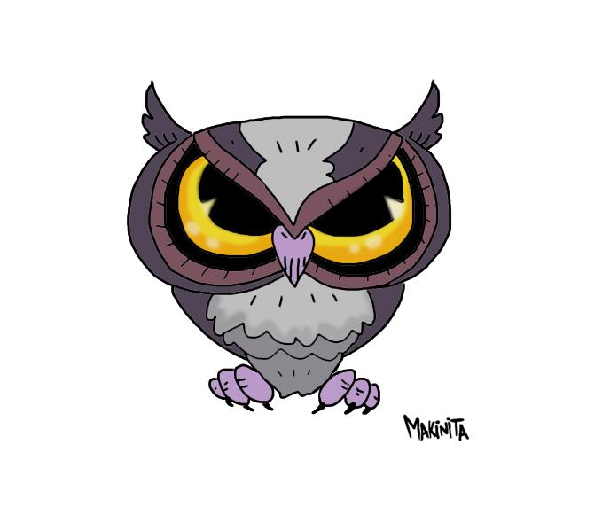 Owllll Final Color by Makinita