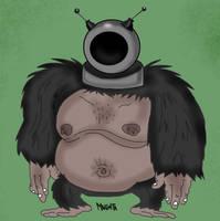 Robot ape by Makinita