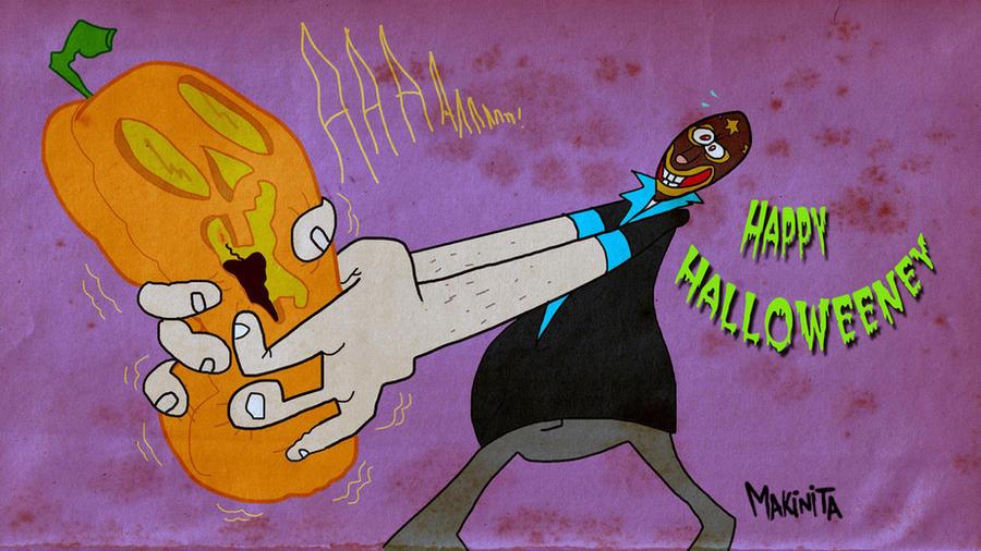 Halloweiiiniiii By Makinita by Makinita