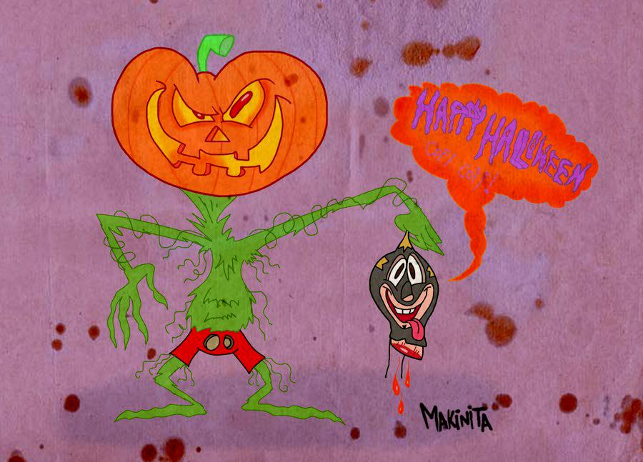 Happy Halloween  By Makinita by Makinita
