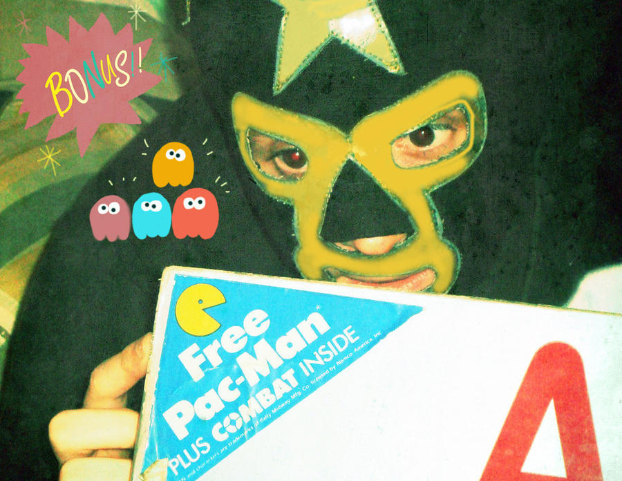 Pacman b day by Makinita