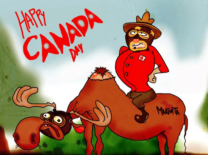 Canada day by Makinita