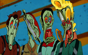Ghostbusters on acid by Makinita