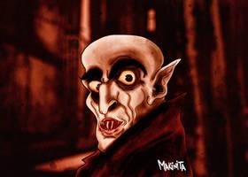 Nosferatu The Vampire By Makinita by Makinita