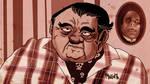 Old Lon Chaney Jr by Makinita