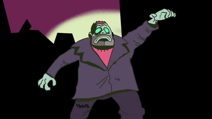 Thug Zombie by Makinita