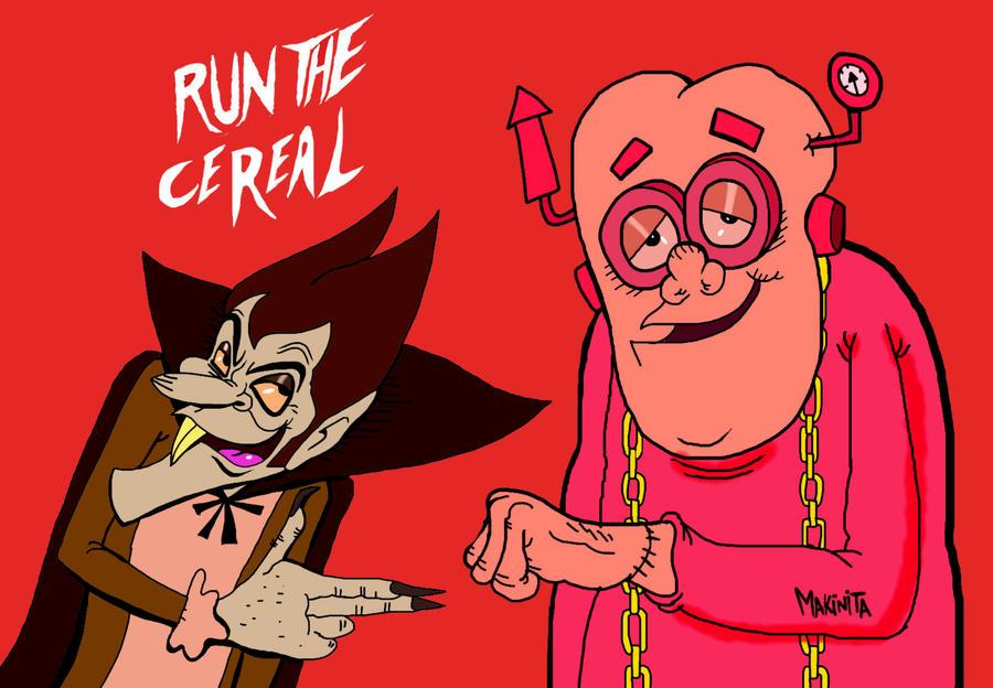 Run the cereal  by Makinita
