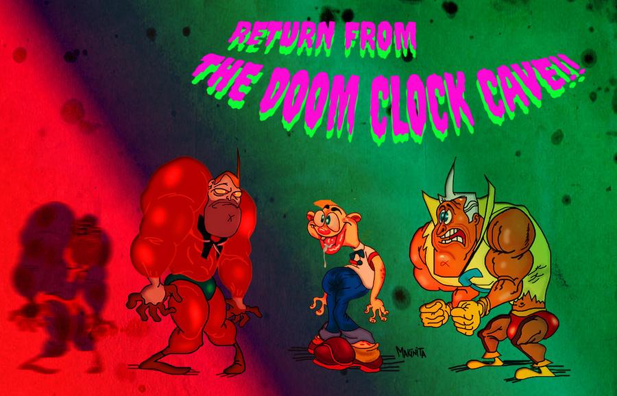 Doom clock cave by Makinita