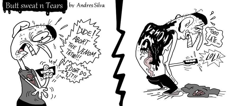 Venom tata by Makinita