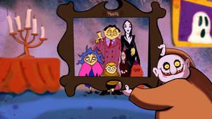 Adam Family frame