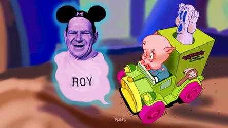 Porky Ghost catcher