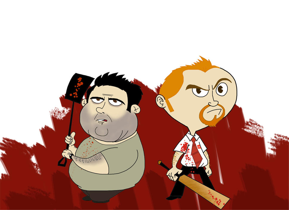 Shaun of the dead by Makinita