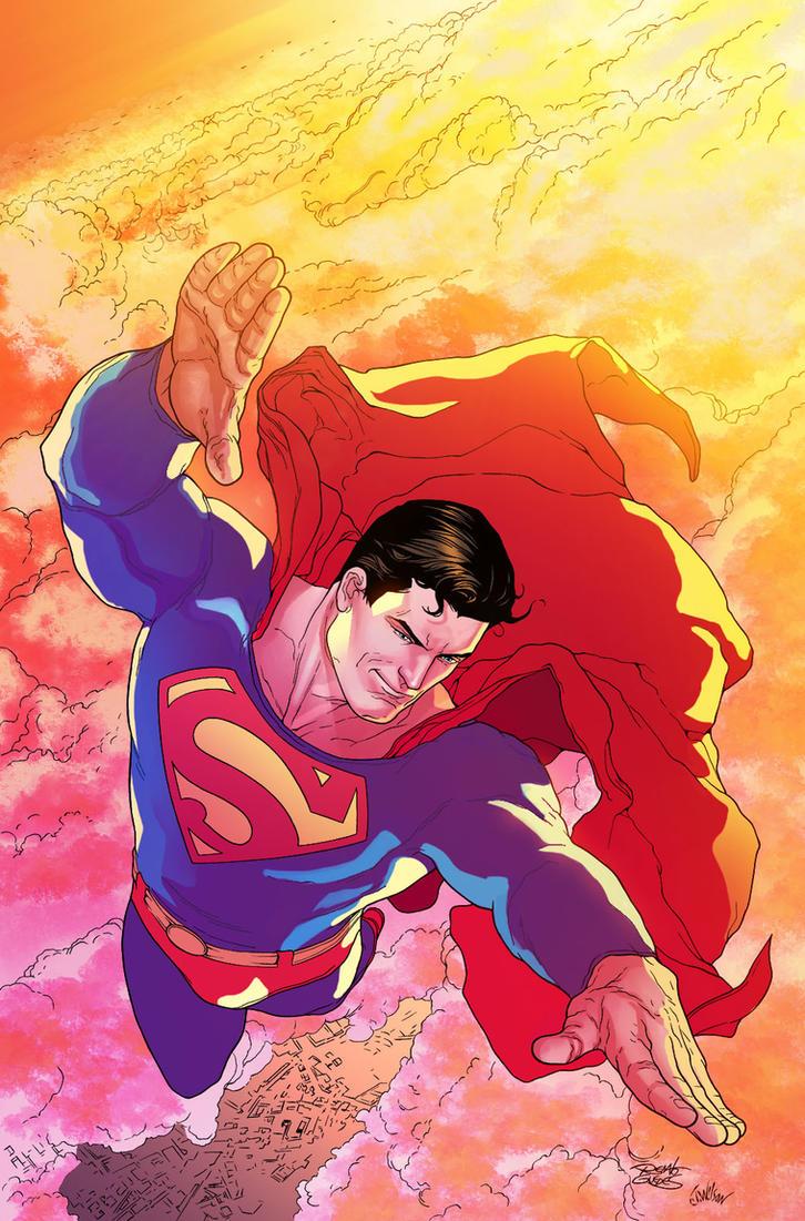 Superman by adrianocastro