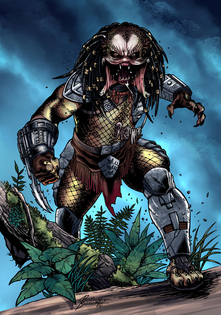 Predator color by adrianocastro