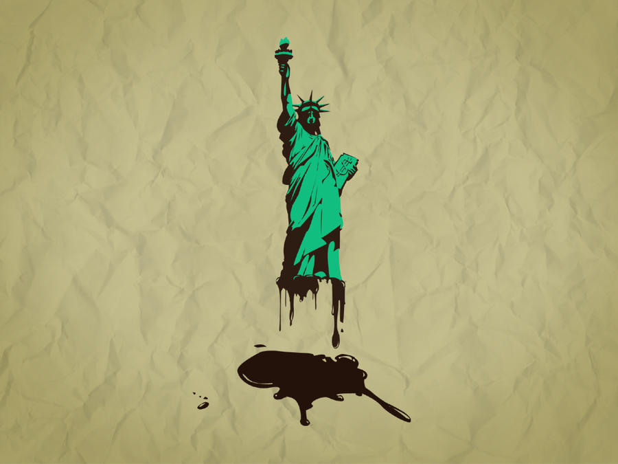Give us Liberty, Give Us Oil. by bodegas