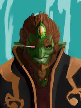 Ganondorf's Grin- Wind Waker