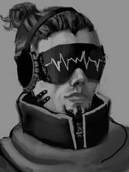 Cyberpunk Dude- Feel My Vibes?