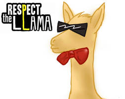 Respect the Llama by Gothicamew