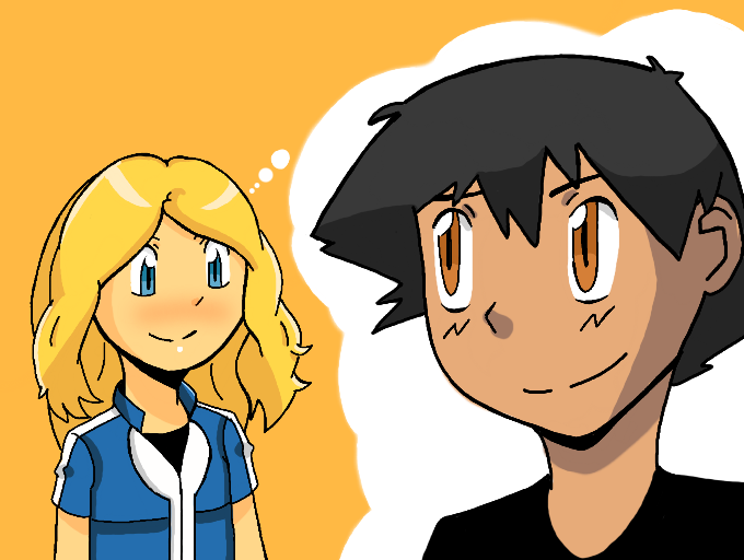 Serena And Satoshi by donicx1