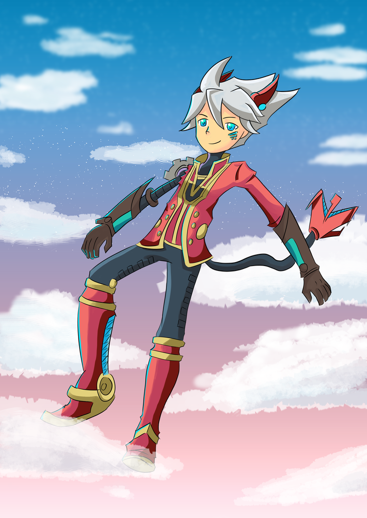 Rodea the Sky Soldier by donicx1
