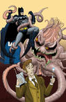 Batman and Dr Who Fight Cancer Monster