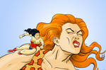 Wonder Woman Vs Giganta