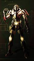 Cyborg speed painting by RAEH