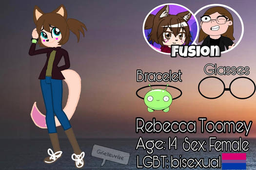 Meet Rebecca (( me and my friend fusion ))
