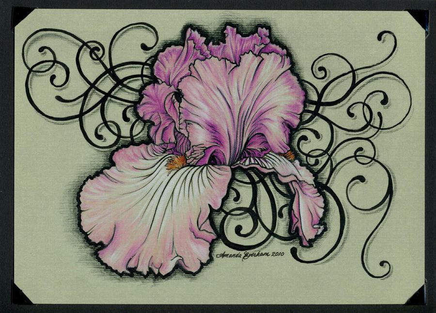 bc1fd89a811a5 Iris Tattoo Card by MEverham | avatattoos