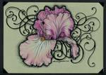 Iris Tattoo Card