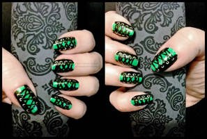 Halloween Nails - 2012 by M-Everham