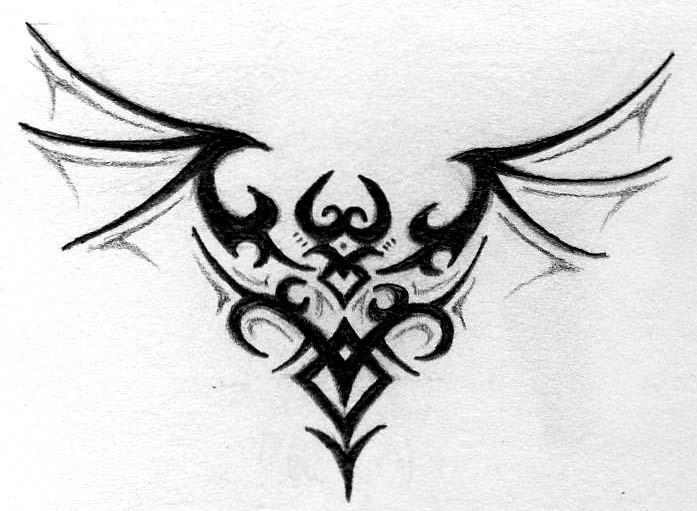 Ficha de Naiten Brunestud. Tribal_dragon_by_m_everham