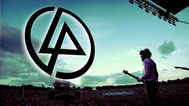 Linkin Park - Live and logo wallpaper