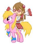 Collab: Skye and Ikuui Pony