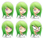 Elysee Healing Thoughts Expression Sheet 02