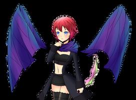 Rouge Shadow Wings by Daheji