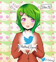 Follow Elysee on Twitter @RottenElysee ! by Daheji