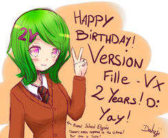 Version Fille VX - 2 years birthday ! D: