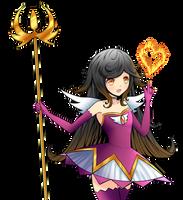 Nanako - Eternal Burning Phoenix by Daheji