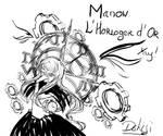 Manon - Golden Watch Maker Doodle