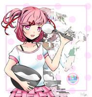 Doki Doki Literature Club - Natsuki by Daheji