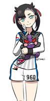 Marnie the Pokemon Challenger