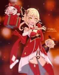 Genshin Impact Traveler Christmas