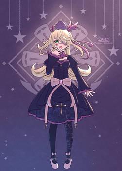 Genshin Impact Fischl Gothic Lolita