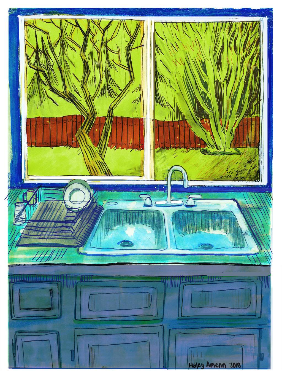 Kitchen Window by Inprismed