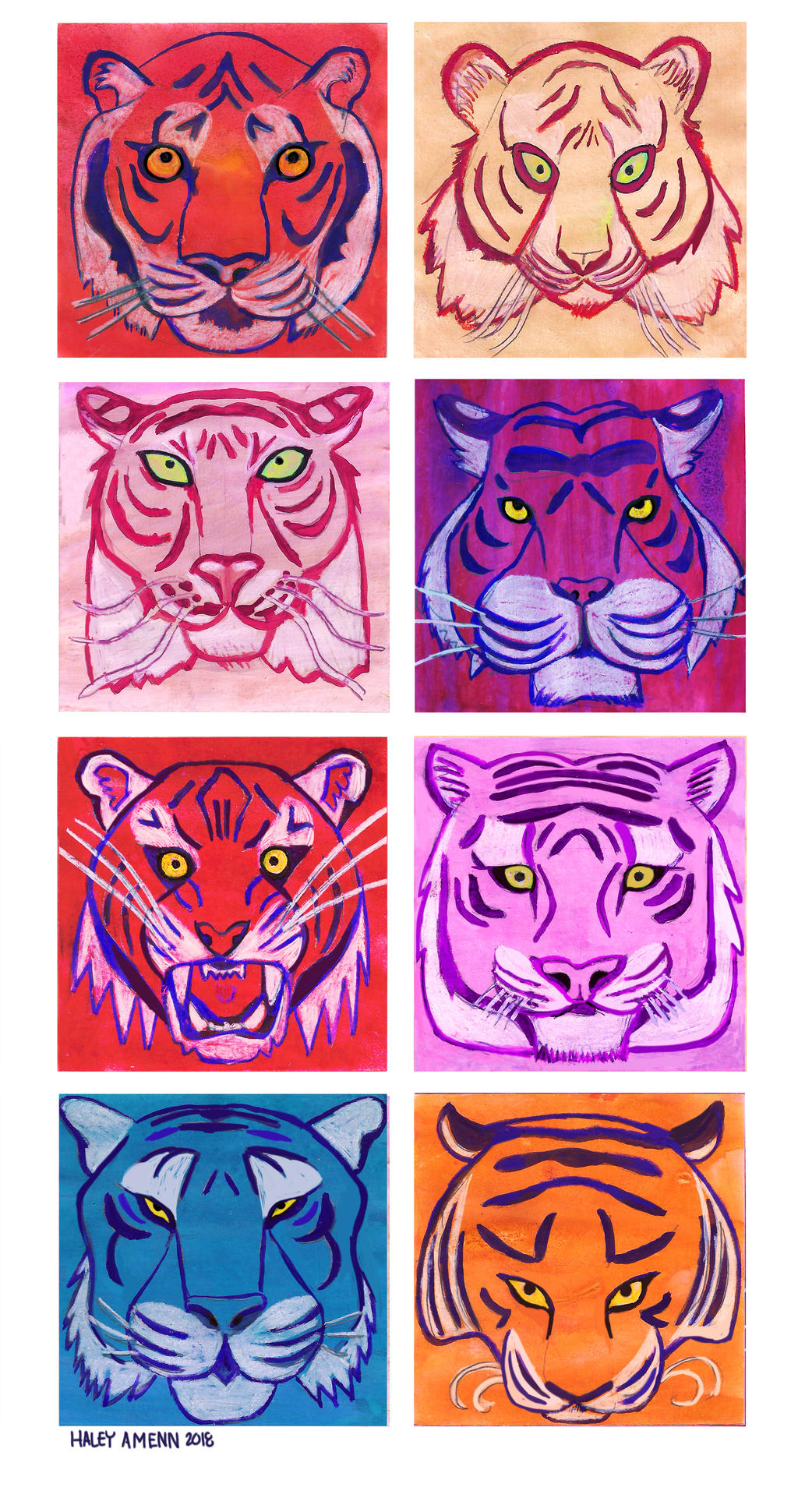 Tigers by Inprismed